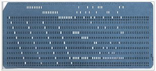 EBCDIC punch card from 1964.