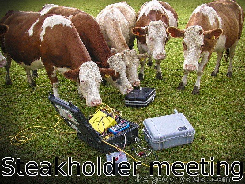 steakholder meeting